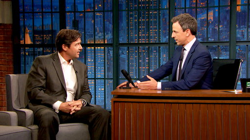 Late Night with Seth Meyers S04E112 Kyle Chandler, Michaela Watkins, Come from Away