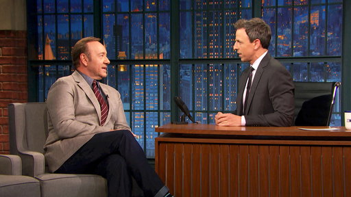 Late Night with Seth Meyers S04E114 Kevin Spacey, Ellie Kemper, Tom Perez