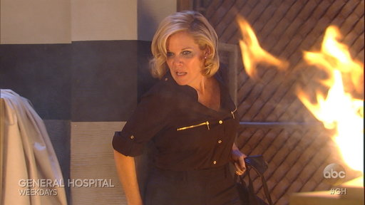 S55E41 GH Spoiler: Will Sonny and Carly Help Ava Escape the Fire?