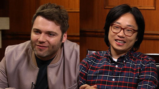 Larry King Now S05E123 'Genius' Star Seth Gabel & Jimmy O. Yang of 'Silicon Valley'