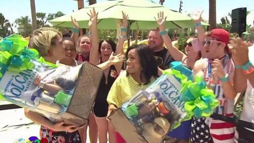 S0E0 Lucky TODAY Fans Receive Volcano Bay Accommodations On Freebie Friday