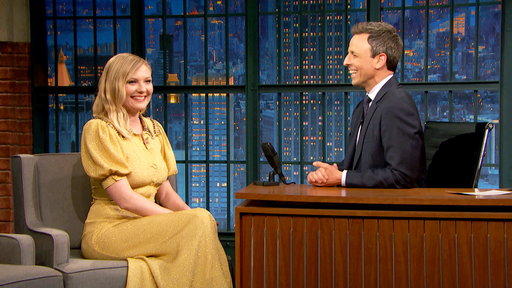 Late Night with Seth Meyers S04E124 Kirsten Dunst, Jerrod Carmichael, Jeff Tweedy