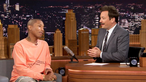 The Tonight Show Starring Jimmy Fallon S04E165 Pharrell Williams, Chris Colfer, Vince Staples