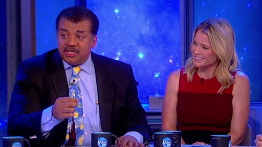 """S20E196 Neil DeGrasse Tyson On """"The View"""":  Talks Stephen Hawking Medal and if Sex With Robots Is Cheating"""