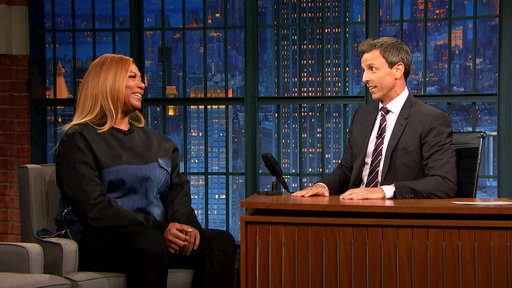 Late Night with Seth Meyers S04E134 Queen Latifah, Zoe Kazan, Dave Portnoy