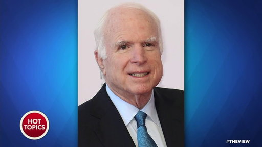 S20E208 John McCain Diagnosed With Brain Cancer: the View Co-hosts React