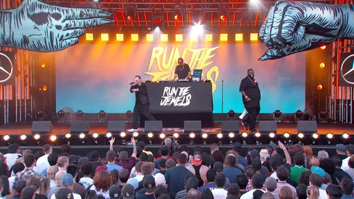 """S15E95 Run the Jewels Performs """"Panther Like a Panther"""""""