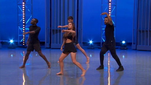 """Season 14, Episode #6 Allison's Group Routine Blows Away the Judges From """"Academy Week #2"""" Screenshot"""
