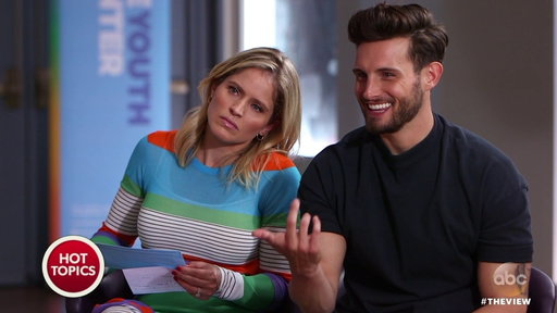 S20E211 Nico Tortorella and Sara Haines Discuss Dating in a Sexually Fluid Relationship On the View