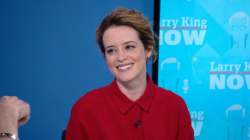 Larry King Now S06E04 Claire Foy on 'The Crown,' Ryan Gosling, & Fame