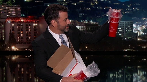 S15E96 Jimmy Kimmel On New Trump Products