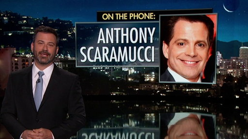 S15E96 Jimmy Kimmel's Exclusive Interview With Anthony Scaramucci