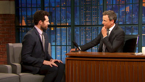 Late Night with Seth Meyers S04E144 Billy Eichner, Ashley Graham, The All-American Rejects