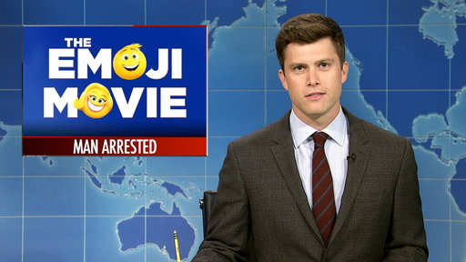 S42E22 Weekend Update on A Man Arrested at the Emoji Movie