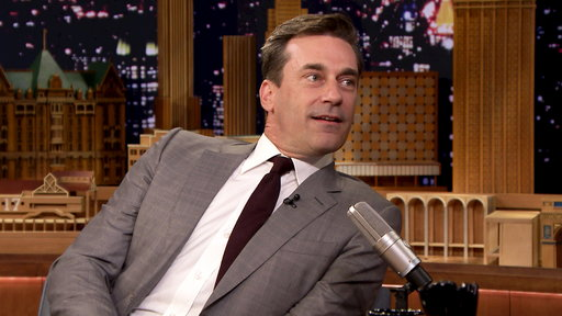 The Tonight Show Starring Jimmy Fallon S04E194 Jon Hamm, Kate Upton, Life Hacks Expert Grant Thompson