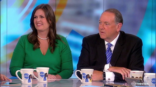 S21E2 Mike Huckabee Talks Trump Pardoning Sheriff During Harvey: The View Exclusive