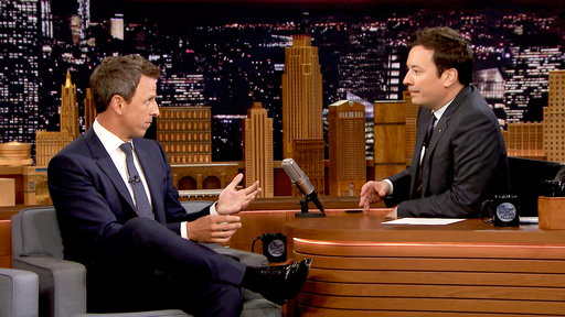 The Tonight Show Starring Jimmy Fallon S04E199 Seth Meyers, Russell Westbrook, Prophets of Rage