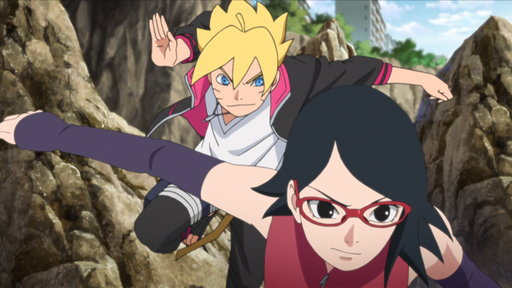 S01E24 (Sub) Boruto and Sarada