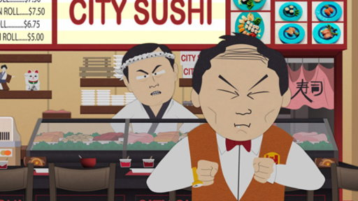 S15E06 Welcome to City Sushi