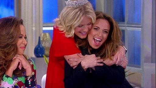 S21E10 Jedediah Bila Says Goodbye to The View