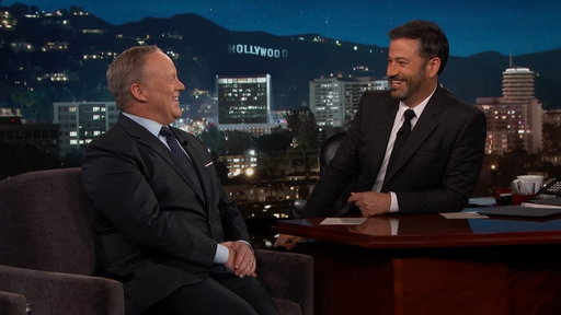 S15E114 Jimmy Kimmel's Full Interview With Sean Spicer