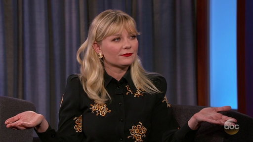 S15E117 Kirsten Dunst Accidently Smoked Full Joint While Shooting Movie