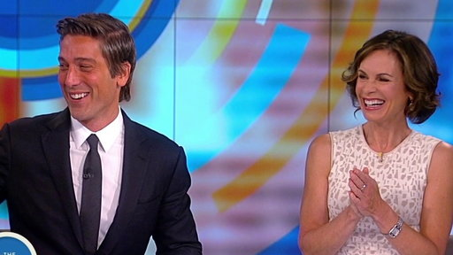 S21E12 David Muir and Elizabeth Vargas Celebrate '20/20's' 40th Anniversary on The View