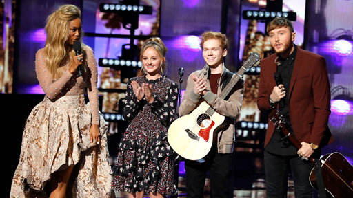 S12E24 James Arthur, Chase Goehring & Evie Clair: Performance