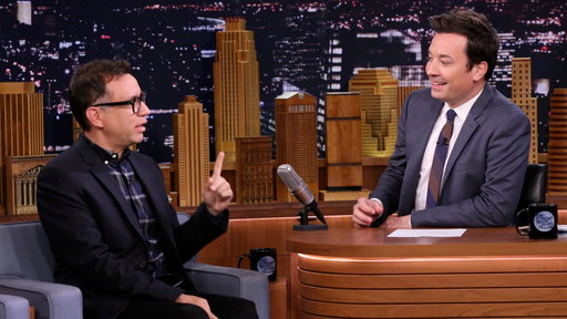 S4E206 Fred Armisen and Jimmy Have a Nonsense Interview