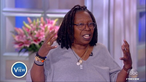"""S21E15 """"The View"""" Hot Topic: Was President Trump's Weekend Rant Really About NFL and NBA Players?"""