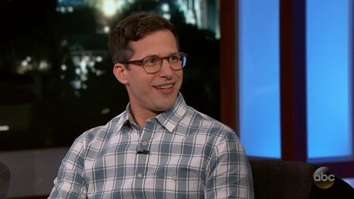 S15E121 Andy Samberg Reveals Favorite Thing About Being a Dad