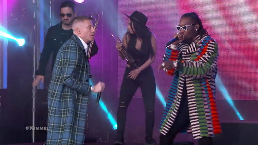"S15E121 Macklemore ft. Offset Performs ""Willy Wonka"""
