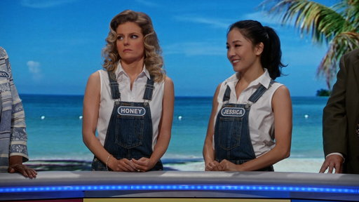 Season 4, Episode #1 Jessica and Honey on Wheel of Fortune Screenshot