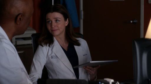 S14E3 Amelia Compares Her Brain Tumor to Dr. Webber's