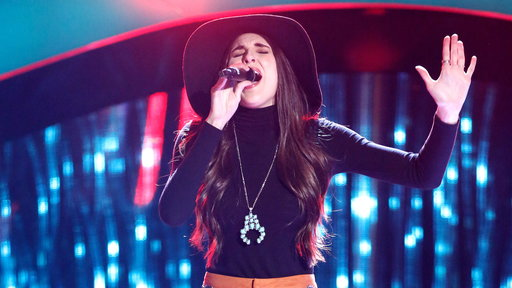 "S13E06 Kristi Hoopes Blind Audition: ""Heaven, Heartache and the Power of Love"""