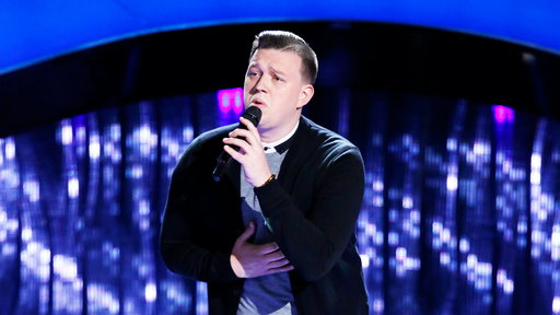 "S13E06 Gary Carpentier Blind Audition: ""Home"""
