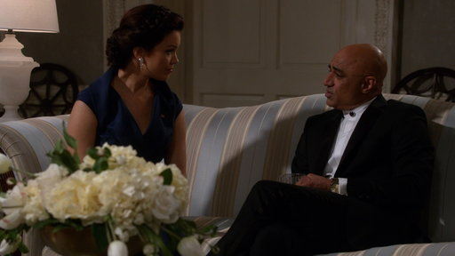 S7E2 Mellie Tells President Rashad Its No Fun to Drink Alone