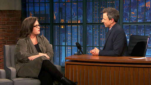 Late Night with Seth Meyers S05E20 Rosie O'Donnell, David France