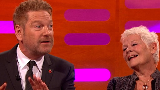 S22E6 Dame Judi Dench Exposed Herself to Kenneth Branagh!