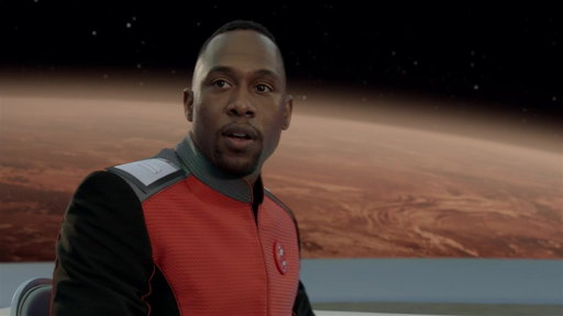 S01E09 John Detects Warships Heading Towards THE ORVILLE