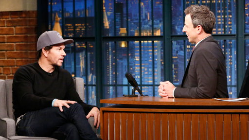 Late Night with Seth Meyers S05E24 Mark Wahlberg, Martin McDonagh, Walk the Moon