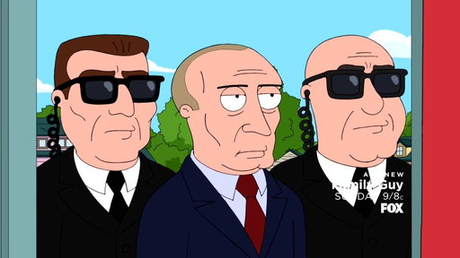 """S16E07 Preview: Vladimir Putin Visits FAMILY GUY from """"Petey IV"""""""