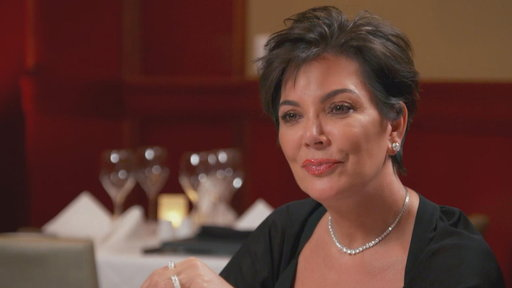 S14E8 Kris Jenner Brings Her Personal Scribe to Lunch