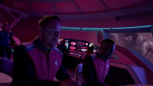S01E10 The Ship Gets Hit By Plasma Storm