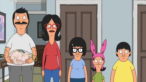 """S8E5 The Belcher's Prepare for Thanksgiving With Teddy From """"Thanks-hoarding"""""""