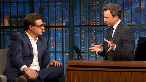 Late Night with Seth Meyers S05E28 Chris Hayes, Kristin Scott Thomas, Alex Lahey