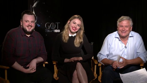 S7E0 Would You Rather With the Cast of Game of Thrones - Face or Warg