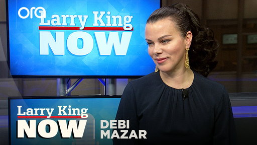Larry King Now S06E53 Debi Mazar on Scorsese, Madonna, & 'Younger'