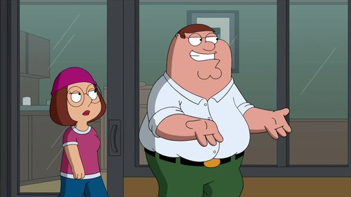 S16E08 Peter Shows Meg Where He Was When She Was Born