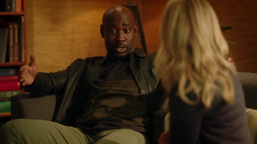 S03E09 Amenadiel Explains Why His Power Is To Slow Down Time